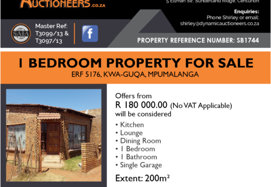 Property for sale in Mpumalanga